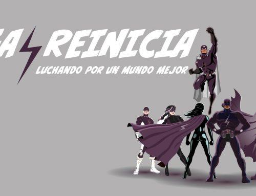 Los superhéroes de reinicia: sus asociados