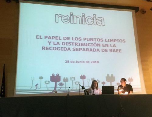 """reinicia participa en la jornada """"El valor de la recogida separada"""""""